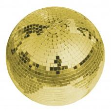 Auksinis veidrodinis gaublys EUROLITE 30cm