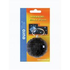 Veidrodinis gaublys EUROLITE Mirror ball 5cm black