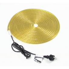 Šviečiantis kabelis, geltonas 5m