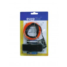 EUROLITE EL wire 2mm, 2m, red