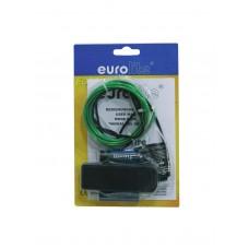 Šviesolaidis EUROLITE EL wire 2mm, 2m, žalias