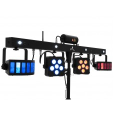 LED šviesos efektas su lazerio efektu EUROLITE LED KLS Laser Bar PRO FX Light Set