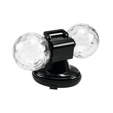 Dvigubas šviesos efektas EUROLITE LED MDB-12 Mini double ball