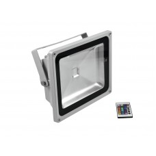Architektūrinis apšvietimas EUROLITE LED IP FL-50 COB RGB 120� RC