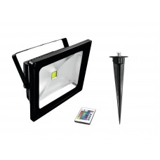 EUROLITE LED IP FL-30 COB RGB IR + Stake