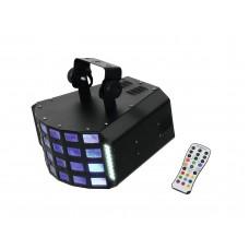 Diskotekų šviestuvas EUROLITE LED D-30 Hybrid beam efektas
