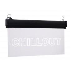 EUROLITE LED sign Chillout, RGB