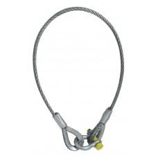 EUROLITE Lifting rope 1500x10mm w. shackle -400kg