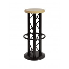 Baro kėdė ALUTRUSS Bar stool with ground plate black