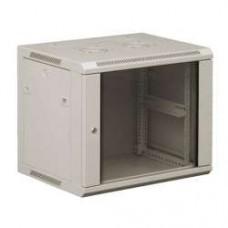 6U komutacinė pakabinama spinta 600x600 stiklinės durys