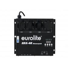 4 kanalų šviesų dimeris EUROLITE EDX-4R DMX RDM Dimmer pack