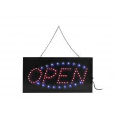 LED ženklas OPEN
