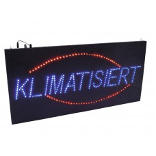 EUROLITE LED Sign KLIMATISIERT