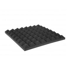 OMNITRONIC Akustinis porolonas, piramidės formos 50mm, 50x50cm