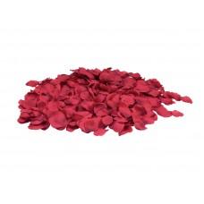 Dirbtiniai raudoni žiedlapiai 500vnt