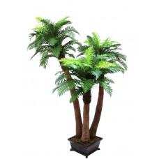 Dirbtinė medinio paparčio palmė, 240cm