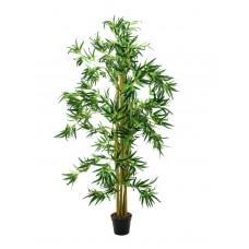 Dirbtinis bambukas su gausia lapija EUROPALMS, 150cm