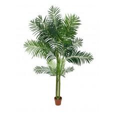 Didelė dirbtinė palmė EUROPALMS Areca palm, 4 stiebai, 240cm