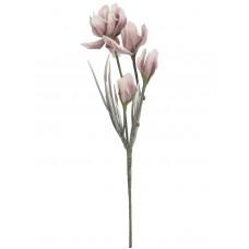 Dirbtinė magnolijos šakelė EUROPALMS rožinė