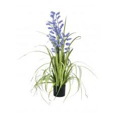 Dirbtinė gėlė EUROPALMS Bellflower, violetinė, 105cm