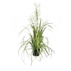 Dirbtinė gėlė EUROPALMS Bellflower, balta, 105cm