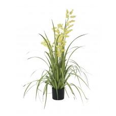 Dirbtinė gėlė EUROPALMS Bellflower, geltona, 105cm