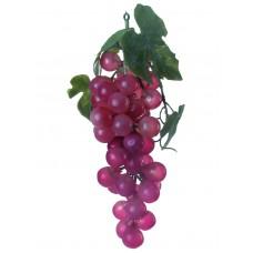 Dirbtinės vynuogės su lapais EUROPALMS Grapes with leaves, red
