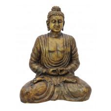 Budos skulptūra EUROPALMS Buddha, antique-gold, 120cm