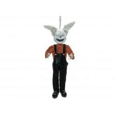 Dekoracija helovynui EUROPALMS Halloween Horror Rabbit, 140x30x15cm