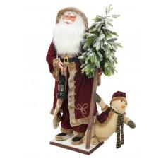 Didelis Kalėdų senelis EUROPALMS Santa clause, standing, 150cm