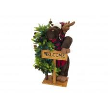 EUROPALMS Christmas moose, standing, 100cm