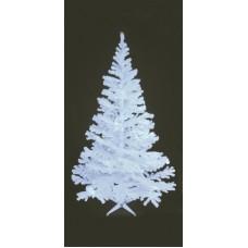 UV aktyvi balta Kalėdinė eglutė EUROPALMS  240cm