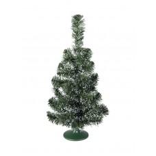 Maža eglutė ant stalo Kalėdoms EUROPALMS baltai žalia 45cm