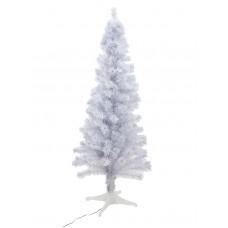 Balta šviečianti eglutė EUROPALMS, 180cm