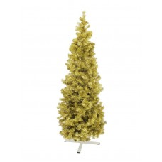 Auksinė Kalėdų eglė EUROPALMS FUTURA 210cm