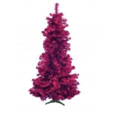 Violetinė dirbtinė Kalėdų eglė EUROPALMS FUTURA, metallic, 210cm
