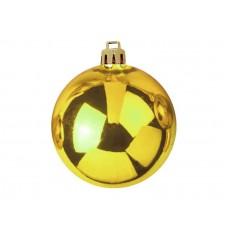 Auksiniai kalėdiniai burbulai EUROPALMS Decoball 10cm, 4 vnt.