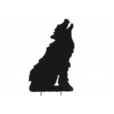 Dekoracija Vilko siluetas EUROPALMS Silhouette Wolf, 60cm