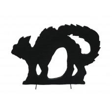 Dekoracija Katės siluetas EUROPALMS Silhouette Cat, 60cm