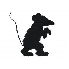 Dekoracija EUROPALMS siluetas Creepy Mouse, 56cm