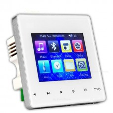 Sieninis stiprintuvas su MP3 ir vaizdo grotuvu ir FM radija, Bluetooth 2x25W
