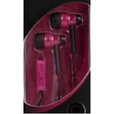 KOSS KE29 ausinės ausyse (raudonos) su mikrofonu