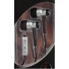 KOSS KE29 ausinės ausyse (sidabrinės) su mikrofonu