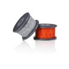AMC OFCFR 2x0.82 instaliacinis kabelis (pilkas)
