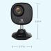 1080p IP vaizdo stebėjimo kamera Mini Plus juoda