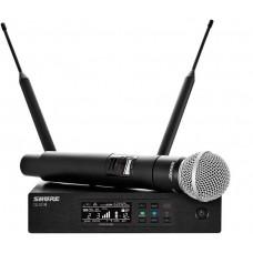 Bevielis rankinio mikrofono komplektas  Shure QLXD24E/SM58-K51
