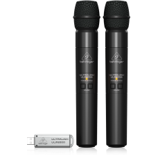 Bevielių mikrofonų komplektas 2vnt garso kolonėlėms Behringer MPA