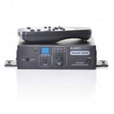 AMC iComC 2X20 2-jų kanalų stiprintuvas su RS2323 sąsaja ir distanciniu pulteliu