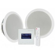 Instaliacinis garso įrangos komplektas, FM/USB/SD/Bluetooth, 2x 6.5