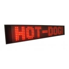 LED švieslentė 180cm, raudona